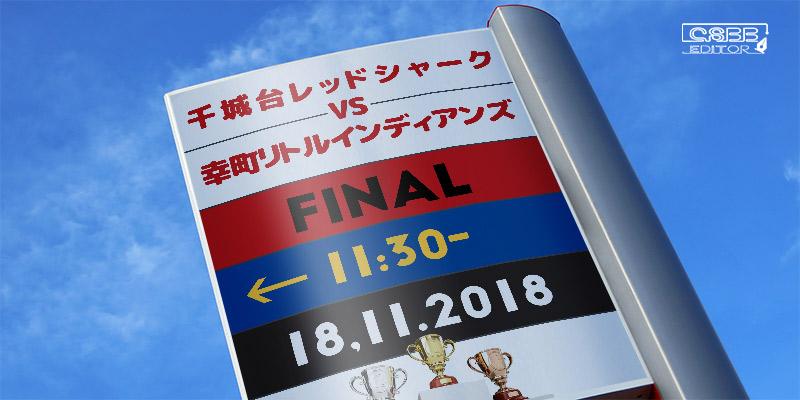 千葉市少年軟式野球協会 第42回 秋季中央大会 11月11日 Ⅰ部 画像