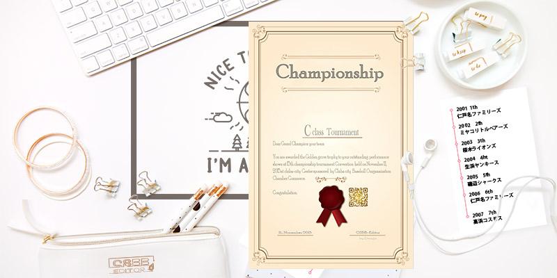 千葉市少年軟式野球協会 低学年中央大会 大会歴代記録