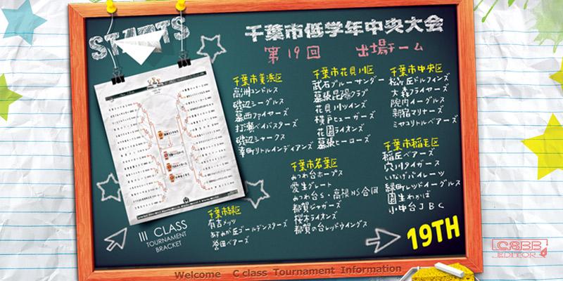 総集編画像 第19回 千葉市低学年中央大会年生選抜大会