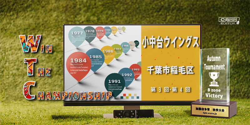 京葉少年野球連盟 秋季大会 歴代記録 Bゾーン 小中台ウィングス